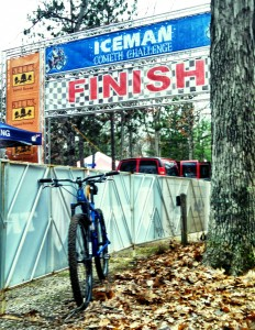 The Iceman Cometh, and the slow demise of a rear derailleur
